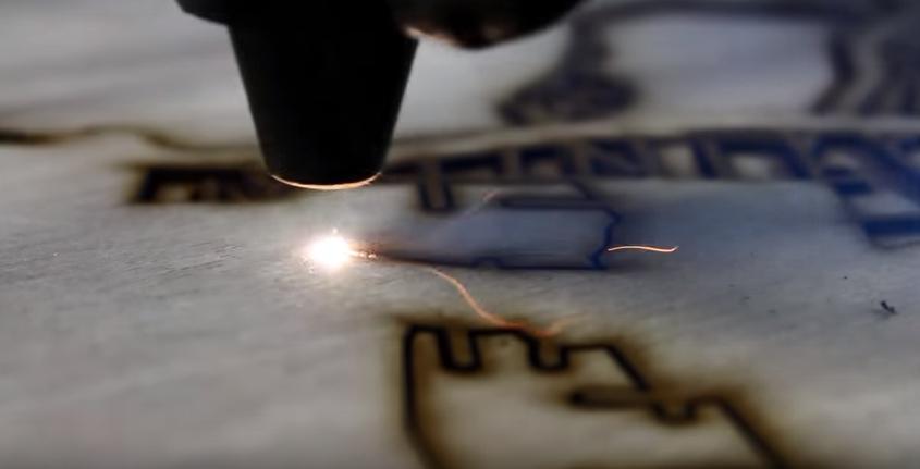 Grabado Laser de madera en Tijuana