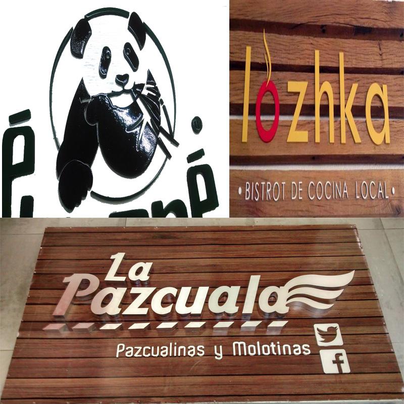 Letras y Logos corporativos en Acrilicos Corte Laser en Tijuana